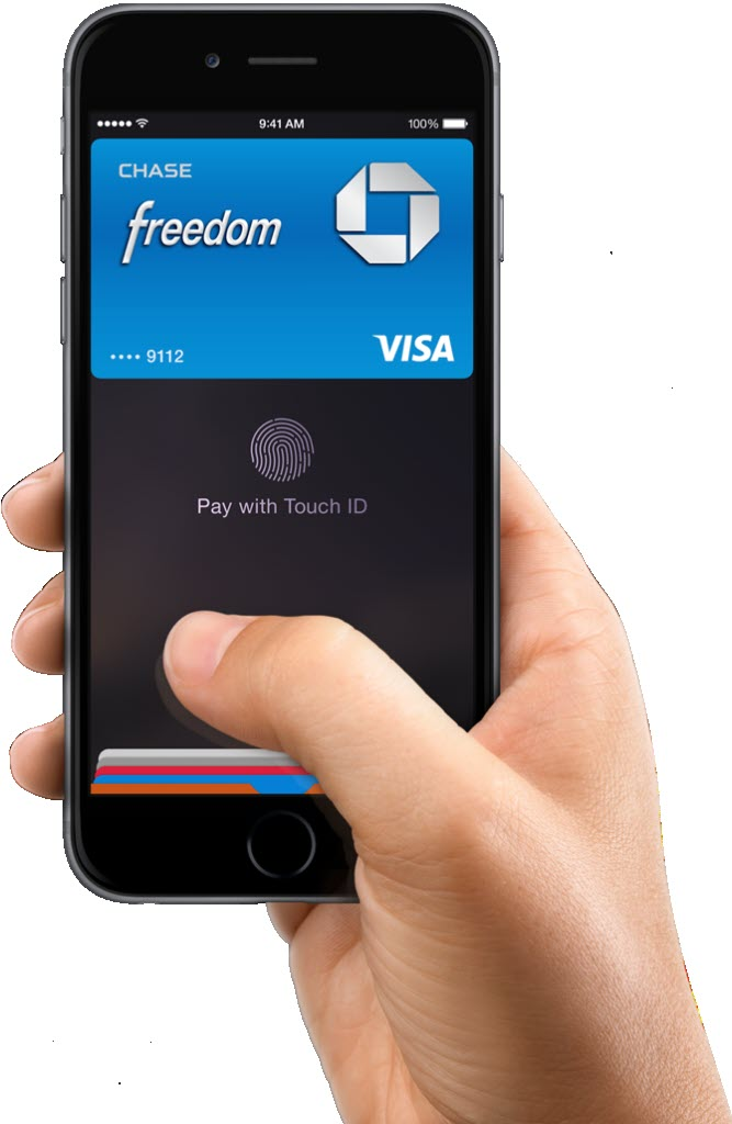 iPhone 6 apple pay chase visa 667x1024 آیفون ۶ (عکس ها)
