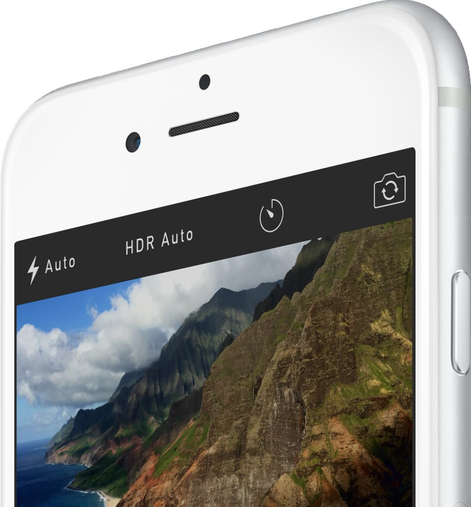 iPhone 6 front camera 950x1024 آیفون ۶ (عکس ها)