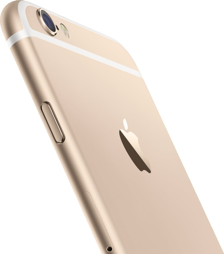 iPhone 6 gold back camera 904x1024 آیفون ۶ (عکس ها)