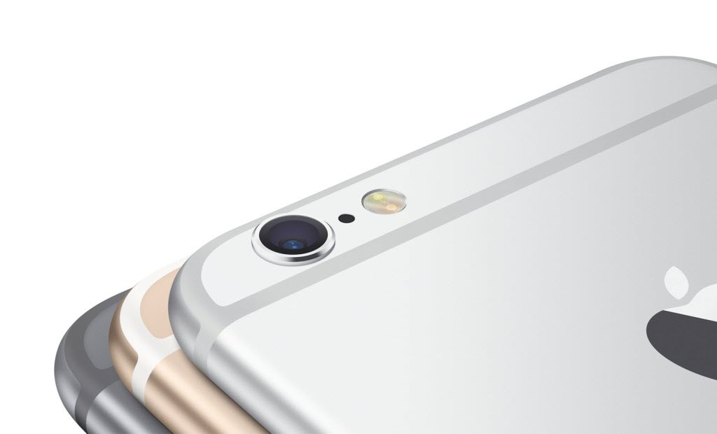 iPhone 6 gray silver gold back camera 1024x620 آیفون ۶ (عکس ها)
