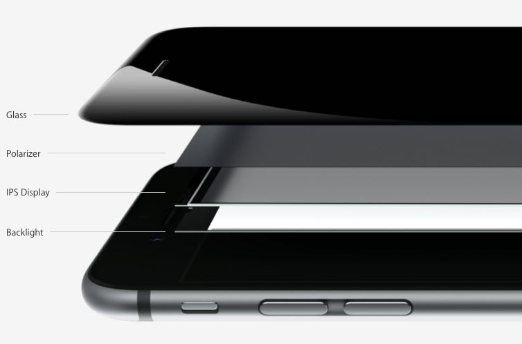 iPhone 6 inside view retina hd display آیفون ۶ (عکس ها)