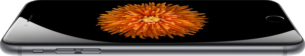 iPhone 6 laying 1024x189 آیفون ۶ (عکس ها)