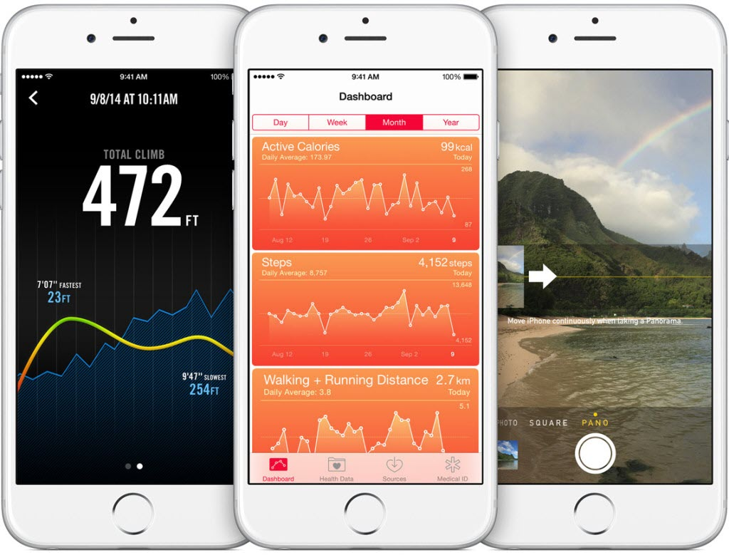iPhone 6 sensors barometer accelerometer gyroscope 1024x779 آیفون ۶ (عکس ها)