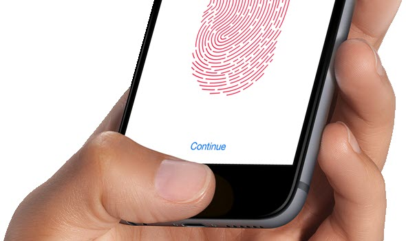 iPhone 6 space gray Touch ID آیفون ۶ (عکس ها)